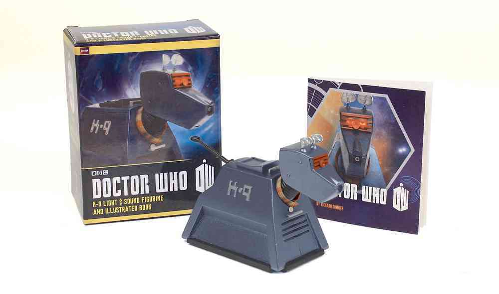 Doctor Who - K-9 Light-and-Sound Figurine / Illustrated Book By Running Press (COR)